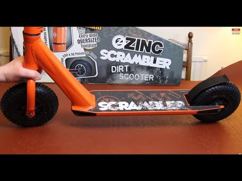 ZINC Scrambler - Dirt Scooter - Detailed Unboxing & Assembly + Headset Teardown
