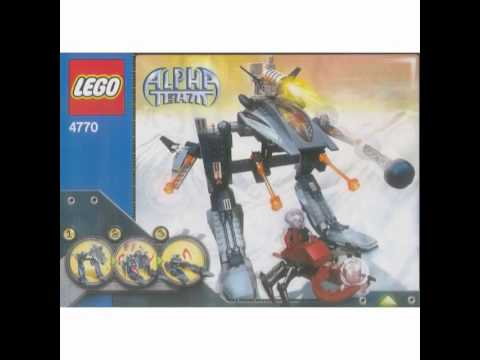 All Lego Alpha Team Sets! (2001-2005)