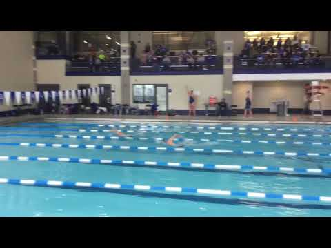 Garrett B - 200 Free - Illinois College Dual Meet