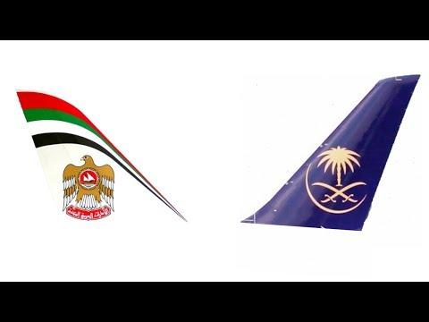 Etihad Airways Vs Saudia Fleet Comparison and Types of Aircraft's