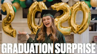 SURPRISE HIGH SCHOOL GRADUATION CEREMONY FOR TEENAGE DAUGHTER | HIGH SCHOOL GRADUATION CELEBRATION