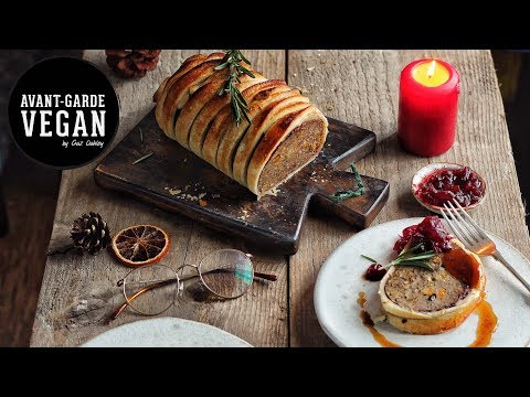 Epic Holiday Vegan Wellington | @avantgardevegan #GazsVeganChristmas