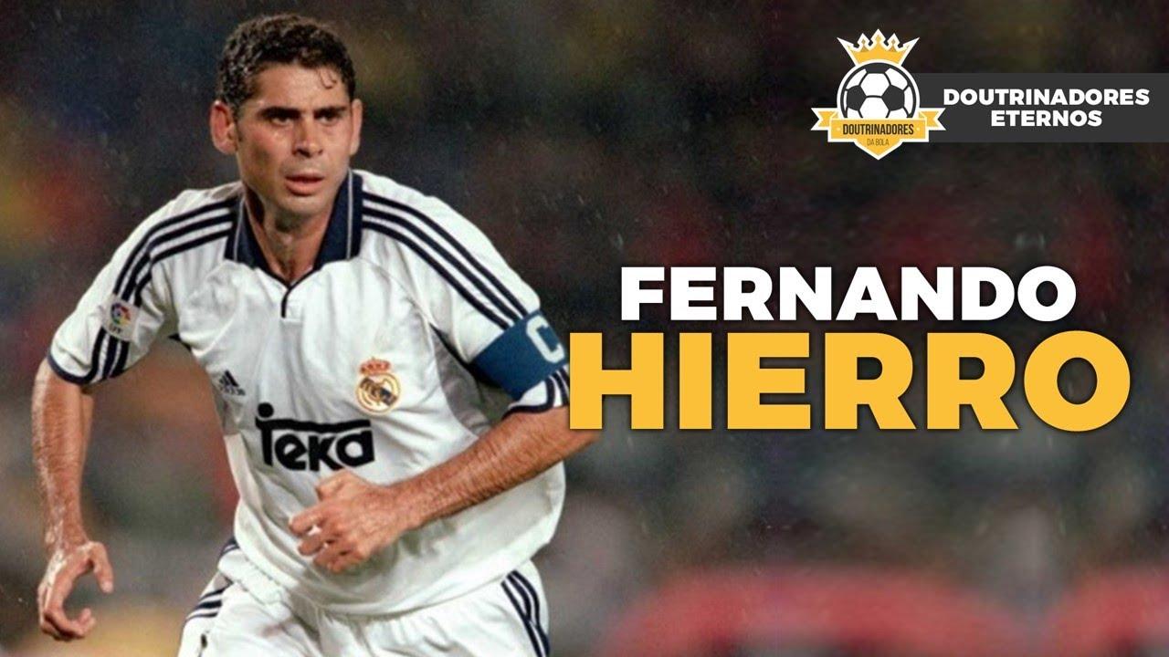 A HISTÓRIA DE FERNANDO HIERRO, O MARECHAL DA DEFESA DO REAL MADRID