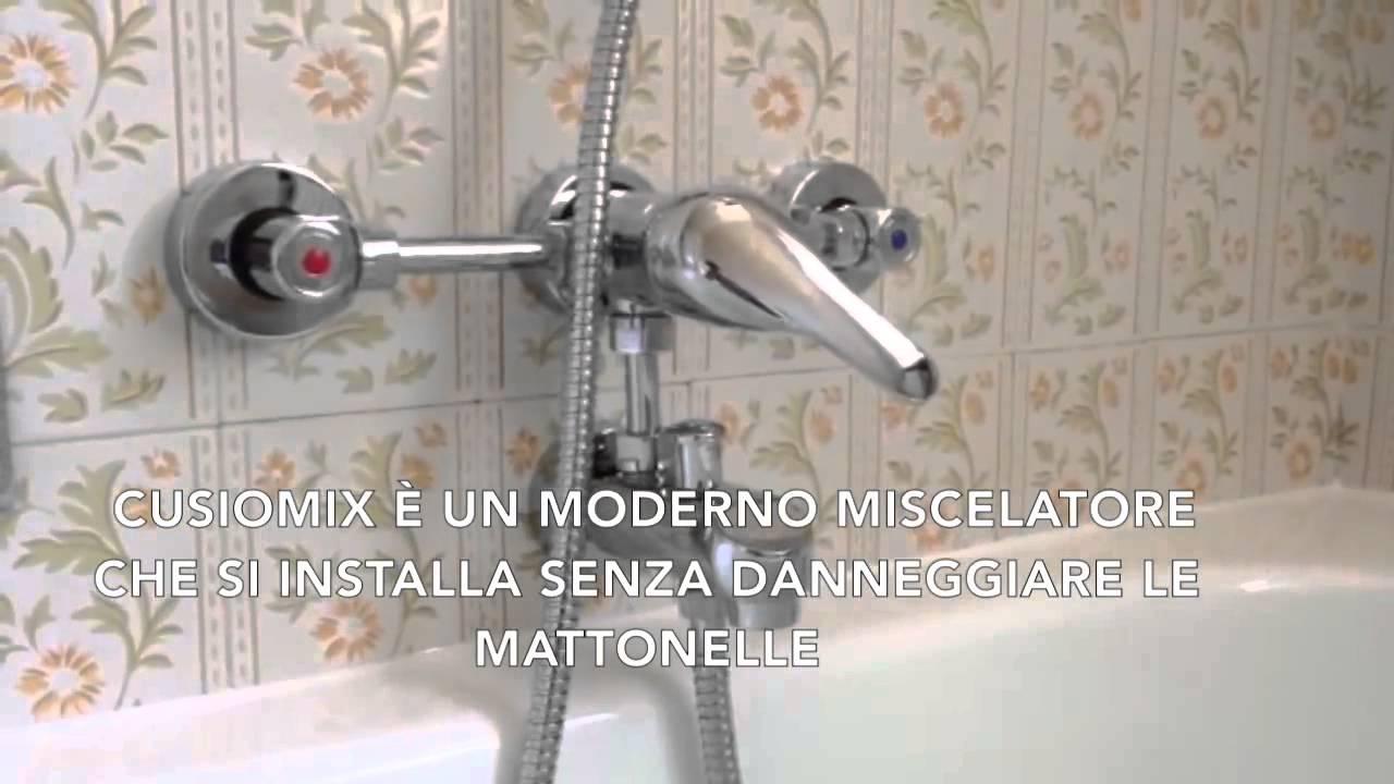 Sostituzione vasca e rubinetteria - YouTube