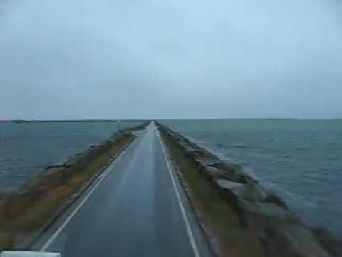 North Uist to Benbecula causeway