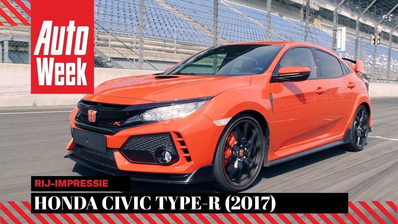 honda civic type r 2017 autoweek review english subtitles rh youtube com