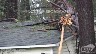 9 14 18 Kings Grant, NC Fallen Trees and High Wind Damage Homes And Cars