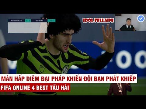 FIFA ONLINE 4   Tuyền Văn Hóa tấu hài với TEAM TÓC XÙ và màn tỏa sáng rực rỡ của Idol Fellaini