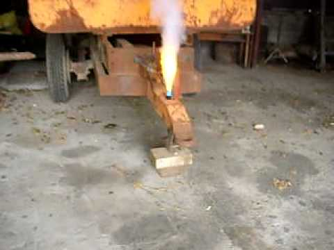 Fumig ne artisanal au chlorate de soude youtube - Desherbant chlorate de soude ...