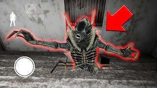 I found the XENOMORPH ALIEN in Granny Horror Game... (Granny vs Alien in Garry's Mod)