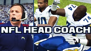 NFL Head Coach 09 - RUNNING THE NORV TURNER OFFENSE! (Gates/Tomlinson/Chambers) - Chargers vs Pats