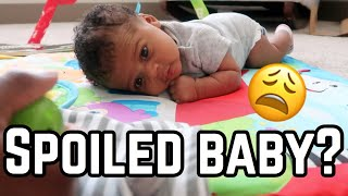 IS MY BABY SPOILED? | MOM VLOG
