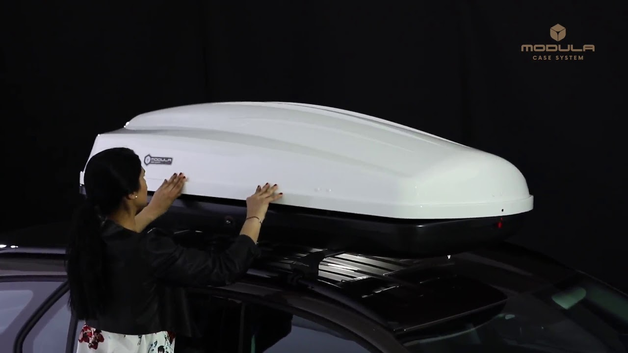Modula Ciao Roof Box | DriveDen UK - YouTube