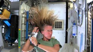 Washing Your Hair in Space - Astronaut Tips | ISS Space Science HD Video