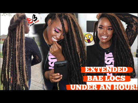 extended-bae-locs-under-an-hour!-improved-method-faux-individs-crochet-braid-pattern-|-bobbi-boss
