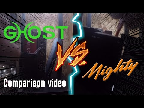 Ver.2 Comparing Two TOP Portable vaporizers: Mighty vs GHOST MV1
