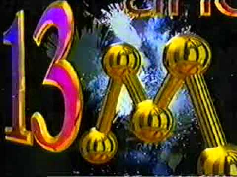 Vinheta interprogramas de 13 anos da Rede Manchete - 1996