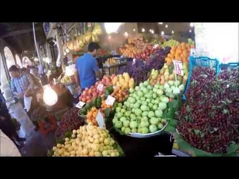 The fruit and vegetable market in Tajrish Bazaar