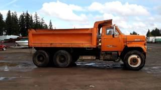 1978 GMC Dump Truck
