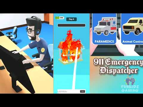 911 Emergency Dispatcher Game - Help People in Need | Rescue Mission |