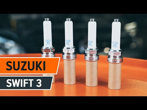 How to replace spark plug on SUZUKI SWIFT 3 [TUTORIAL AUTODOC]