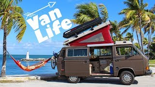 #VanLife with Tarzan & Tantor   Living in a 1985 Volkswagen Vanagon Westfalia