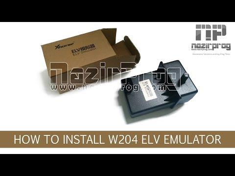 How to install W204 ELV Emulator by VVDI MB - NazirProg