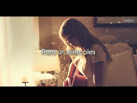 Taylor Swift  Begin Again Traducida Español