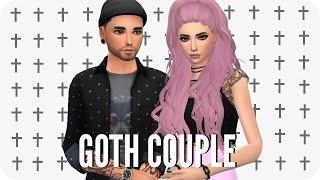 Sims 4 Create A Sim | Goth Couple