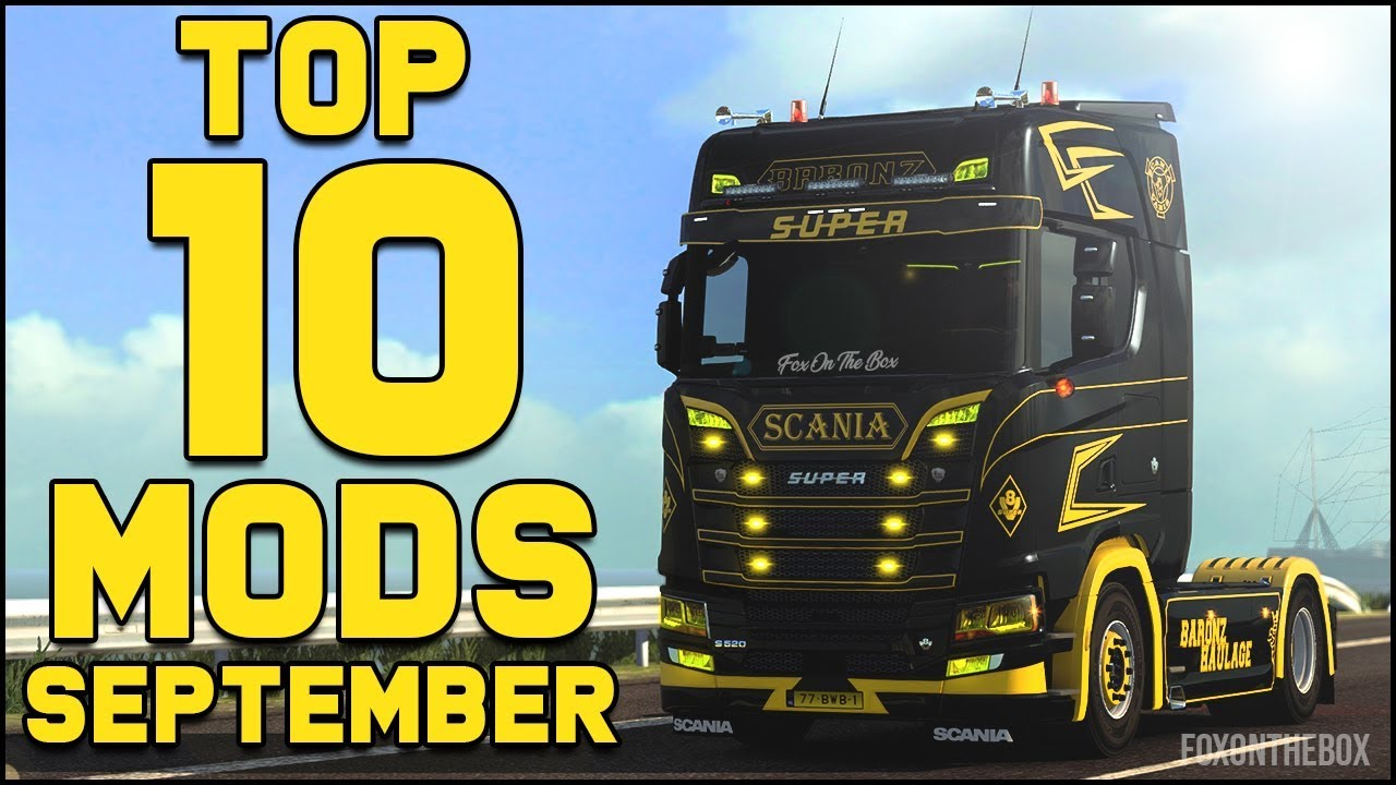 0555d3bcc8e Steam Community :: Video :: Top 10 ETS2 Mods - September 2018 | Euro Truck  Simulator 2 (ETS2 1.32)