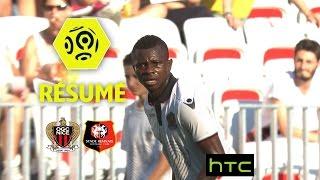 OGC Nice - Stade Rennais FC (1-0)  - Résumé - (OGCN - SRFC) / 2016-17