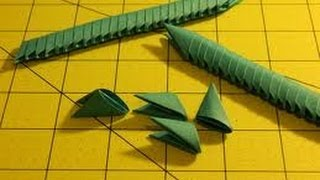 How To Make 3d Origami Pieces(hd)
