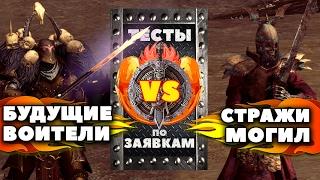 Будущие воители против Стражей могил (Тяжёлое оружие) | Тесты Total War: Warhammer