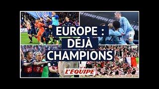 Dernières nouvelles | foot - premier league, bundesliga, ligue 1 : de si précoces champions...