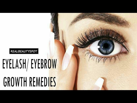 how to grow your eyebrows and eyelashes fast
