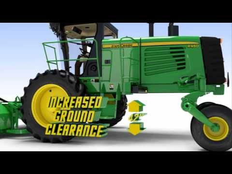 John Deere 400 Series Windrowers From RDO Equipment Co.