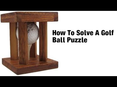 How To Solve A Golf Ball Puzzle Youtube