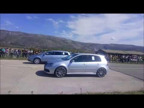 VW Golf Mk5 R32 vs VW Passat B6 2.0 TDI