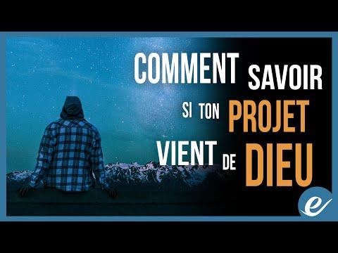 COMMENT SAVOIR SI TON PROJET VIENT DE DIEU - Luc Dumont