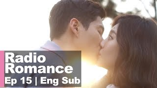 Video YuRa ♥ Ha Joon, They Kissed! [Radio Romance Ep 15] download MP3, 3GP, MP4, WEBM, AVI, FLV Juli 2018