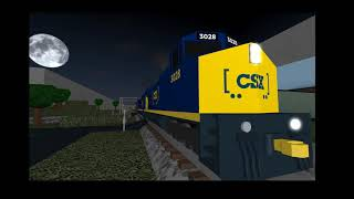 Roblox: A&G DCC Model Railroad, CSX mixed Freight Passion by Green Ash Yard