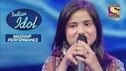 Contestant, Alisha, Indian, Idol, Mashup, Performance, cid, crime petrol, ek tuje k vaaste 2, mere dad ki dulhan, mere sai, best dancer , india best dancer, kapil sharma show, Contestant Alisha