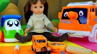 Английский для детей! Учим цвета - Оранжевый
