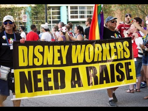 Gigantic Disney Strike Ignored By Corporate Media
