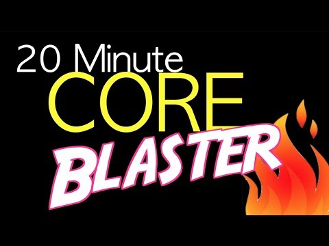 20-Minute Core Blaster Workout At Home Workout (2018)