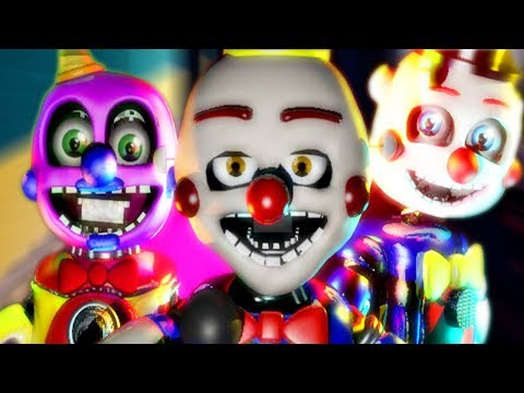 THESE NEW CIRCUS ANIMATRONICS ARE TERRIFYING.. | FNAF Benny The Clown Circus World Remastered