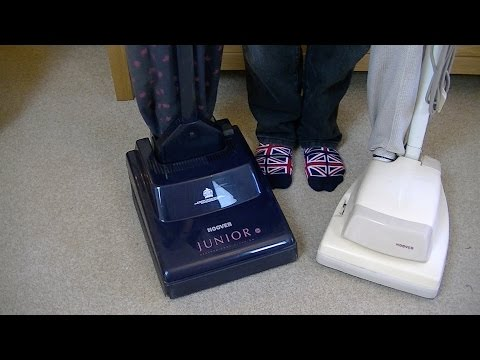 Unboxing Two Hoover Junior Vacuum Cleaners
