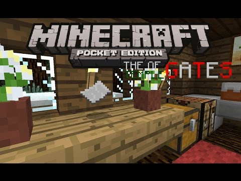 The letter from Bill - Minecraft PE The Temple of Gates [EP.1] - MCPE Machinima