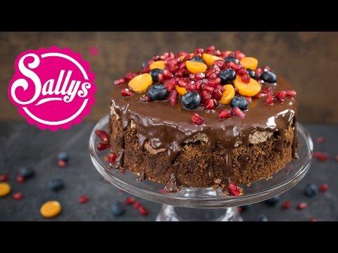 Brownietorte Mit Schokoladencreme Download
