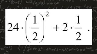 ОГЭ по математике. Задание 1. Найти значение выражения